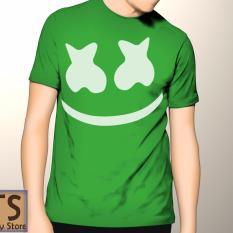Tismy Store Kaos DJ Marshmallow PC2 - Hijau