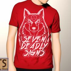 Tismy Store Kaos SDS #2 PC2 - Merah
