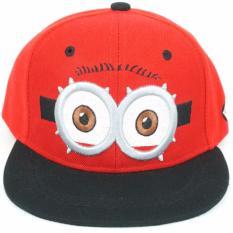 Topi Anak Minion Kids Cap - Merah