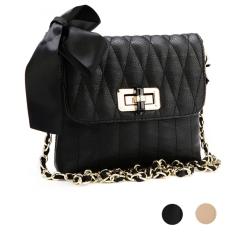 Toprank Women Korean Fashion Shoulder Bag Quilting Chain Crossbody Ladies Handbag New (Pink) - Intl