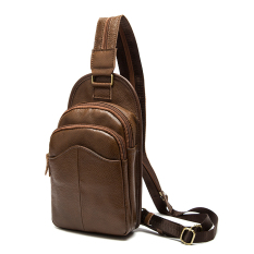 TP Marrant Genuine Leather Men Bag Small Crossbody Shoulder Bagscasual Men Messenger Bags Casual Chest Handbags Men's Leather Bag - Intl