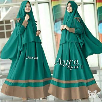 Harga Dan Spesifikasi Premierfashionstore Anggun Syari Grey Source Trend Baju Syari Bergo Jersey .