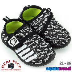 TrendiShoes Sepatu Anak Bayi Laki-Laki Import BMXA9 - Hitam