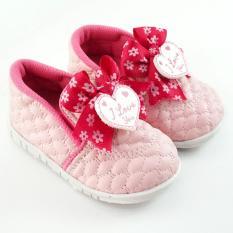 TrendiShoes Sepatu Bunyi Slip On Bayi Walker - Pink