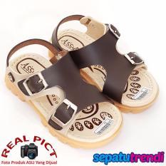 TrendiShoes Sepatu Sandal Anak Laki ASGS2 - Brown Beige