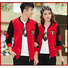 UC Jaket Pasangan Lambo / Jacket Couple Club / Jaket Sepasang / Jacket Girl & Jaket Pria LC - Merah