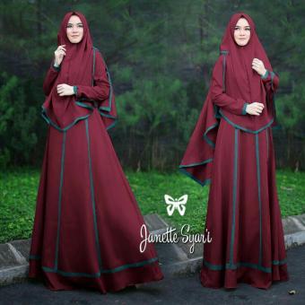Hasanah Fashion Ayra Syari Tosca Gallery 4k Wallpapers Source · Hasanah Fashion Ayra Syari Maroon Daftar Harga Terbaru Source Belanja Online Gamis Ayra