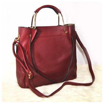 Ultimate Tas Wanita 2in1 Top Handle Bag Tas Branded Wanita High Quality Korean .