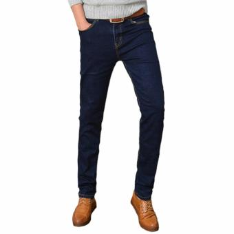 Underpego Jeans Skinny Pria - Navy Blue