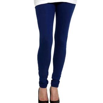 Universal Legging Polos Panjang Ukuran Standart dan Jumbo Warna Dongker