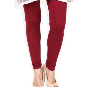 Universal Legging Polos Panjang Ukuran Standart dan Jumbo Warna Merah