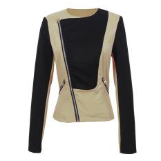 VAKIND New Fashion Winter Warm Women ZIPPER Trench Coat Jacket (Intl)