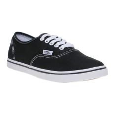 Vans Authentic Lo Pro Sneakers - Black-True White