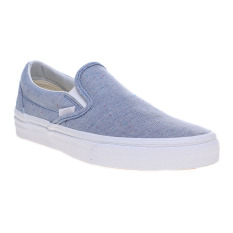 Vans Speckle Jersey Classic Slip-On Sneakers - Blue/True White