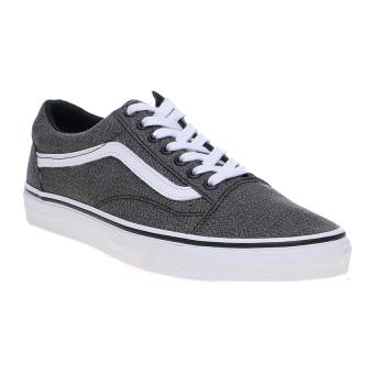 Vans Suiting Old Skool Sneakers - Black-True White