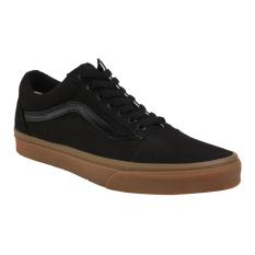 Vans U Old Skool Shoes - Canvas Gum Black/Light Gum