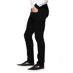 Klikfashions Celana Panjang Cargo Hitam Daftar Harga Terbaru dan Source · VC Celana Jeans Pria Denim Slimfit Hitam