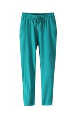 Velishy Women Pants Chiffon (Green)