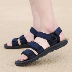 Versi Korea dari anak laki-laki SMP remaja sandal (Biru)