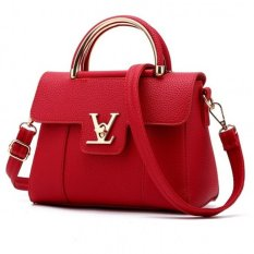 Vicria Tas Branded Wanita - Korean High Quality Bag Style - RED