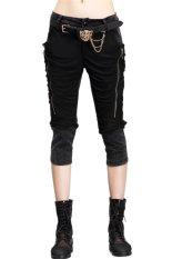 VIVISWILL Cropped Pants (Black) (Intl)