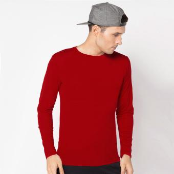 2Nd Red Long Pant Jeans Basic 111608 Blue Ezyhero Source · VM Kaos basic panjang spandek stretch Merah Red long shirt
