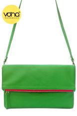 VONA Pitta (Hijau) - Tas Wanita Selempang Sling Bag Clutch Crossbody Kecil