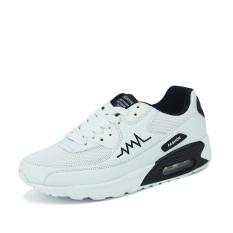 WETIKE Men's Fashion Sports Shoes Mesh Air Cushion Shoes (Black)