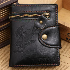 With Coin Bag Zipper New 2016 Men Wallets Famous Brand Mens Wallet Hasp Male Wallets With Coin Pocket Design Men Wallet - Intl
