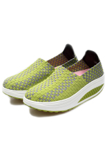 Women Fashion Sneaker Handmade Shoes Summer Shoes (Green) - Intl