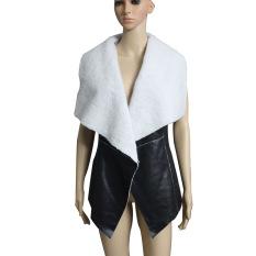 Women Leisure Warm Faux Fur Collar Coat (Intl)