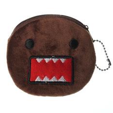 Women Mini Plush Bag Zip Coin Purse Case Handbag Wallet Devil