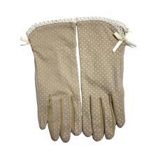 Women UV Protection Cotton Gloves Driving Gloves - Intl