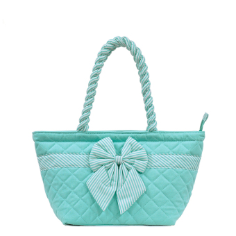 Women's Handbag Bag Female Handbag Dumplings Bag Tote Bags (Blue)