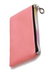 Womens Wristlet Wallet Cardcoin Long Wallet Clutch Zipper Purse Pink