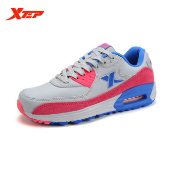 XTEP Brand Running Shoes for Women Winter Warm Athletic Sneakers Thermal Outdoor Sports Shoes Trainers Shoes (Red) - intl
