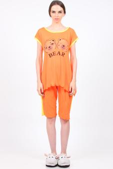 You've 805-10 Two Bears Sleewear - Jingga
