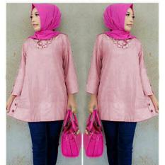 Yuki Fashion Blouse Zoya - Pink