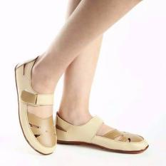 Yutaka Flat Shoes Jahe Krem
