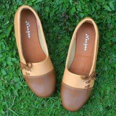 Yutaka Sepatu Wanita Keren - Cokelat