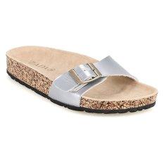 Zada Alika Birken Sandal - Silver