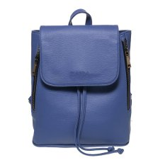 Zada Foldover Flap Backpack - Blue