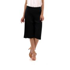 Zada Isle Long Pleated Pants - Hitam