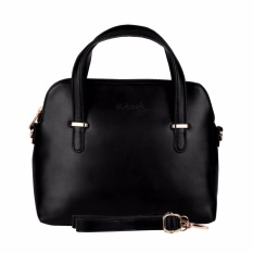 Zada Mini Sling Bag Wanita Cedar Maison -Black