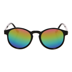 Zada Round Sunnies - Black 2