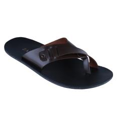 Zada Sandal Pria - Cokelat Tua