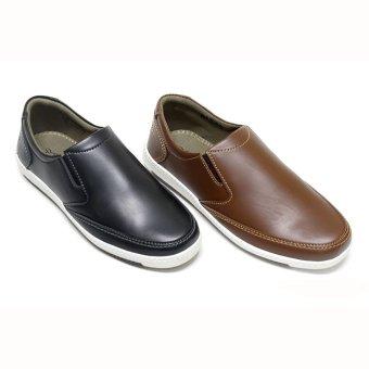 Harga Zandilac - Sepatu Formal Pria Coklat - PriceNia.com 144661ac05