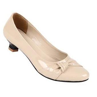 Zeintin Sepatu Kantor Wanita AX06 – Cream