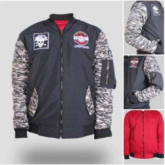 Lmg Jaketsweater Bulex Turon Hoodie Zipper Kombinasi Abu Abu Dan Source · Zims Jaket Bomber BB Corinthians Navy Red
