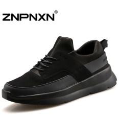 ZNPNXN Men's Fashion Casual Running Shoes Lovers Sports Shoes (Black) - Intl